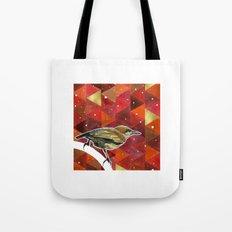 Winter Bird Tote Bag