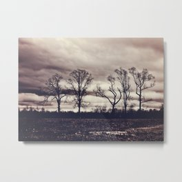 Dancing Trees Metal Print