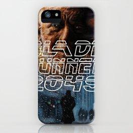 Blade Runner 2049 Poster iPhone Case