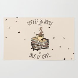 Coffee And Books Rug