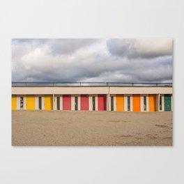 Beach cabin Canvas Print