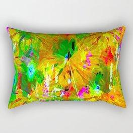 Green Jungle Rectangular Pillow