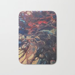 Dendritic Relapse Bath Mat