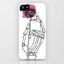 Life in the Hands of Death iPhone Case