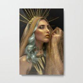 Deesse du Soleil / Goddess of the Sun Metal Print