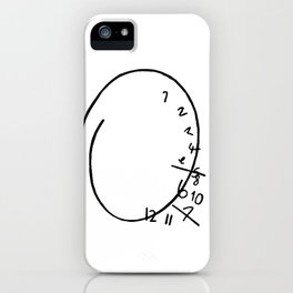 Nbc Hannibal - clock iPhone Case