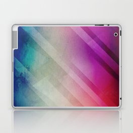 Vivid - Colorful Geometric Mountains Texture Pattern Laptop & iPad Skin