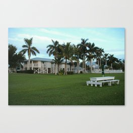 Tarpon Lodge Canvas Print