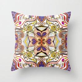 Ghetto Fabulous 4 Symmetrical design Throw Pillow