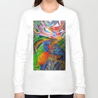 paradise Long Sleeve T-shirts featuring Paradise by shannon's art space