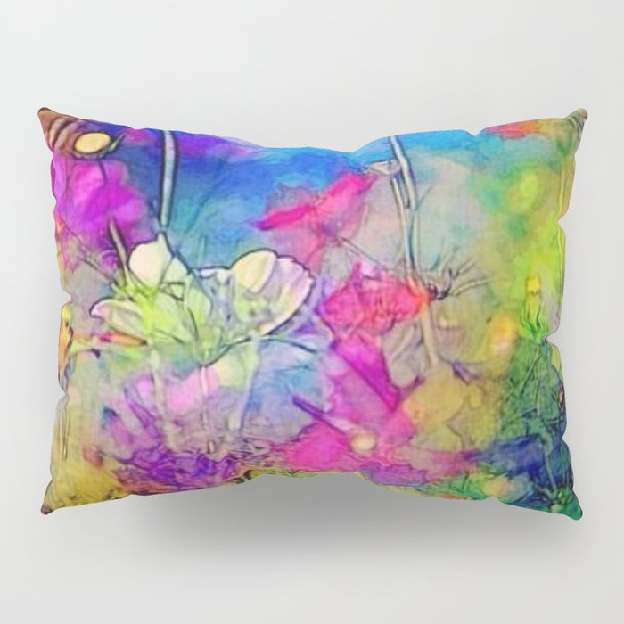 Just living is not enough... one must have sunshine, freedom, and a little flower. Hans Christian A Pillow Sham