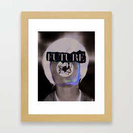 Wasn't The Future Wonderful? Framed Art Print