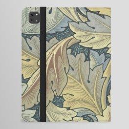 William Morris Acanthus Leaves Floral Art Nouveau iPad Folio Case