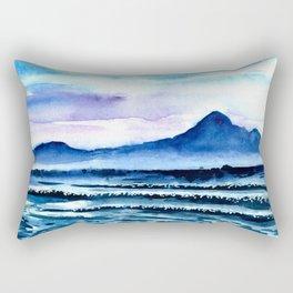 Bali Bingin ocean beach Rectangular Pillow