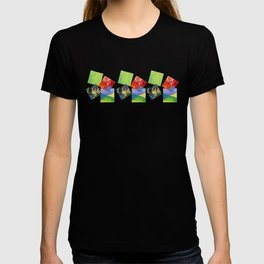 Painted Squares Jiggle T-shirt