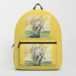 Colorful Baby Elephant Backpack