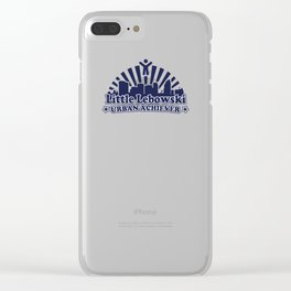 Little Lebowski Urban Acheiver Clear iPhone Case