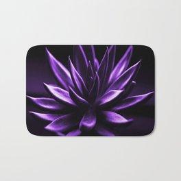Succulent Plant In Purple Color #decor #society6 #homedecor Bath Mat