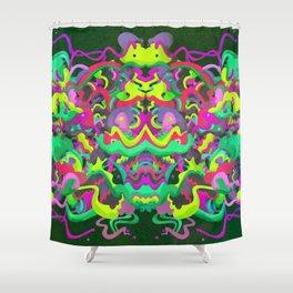 Portent Shower Curtain