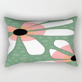 FLOWERY TILDE  / ORIGINAL DANISH DESIGN bykazandholly Rectangular Pillow
