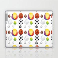 Easter sport balls Laptop & iPad Skin