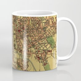 Vintage Map of Sao Palo Brazil (1913) Coffee Mug