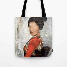 Geisha/Newspaper Serie Tote Bag
