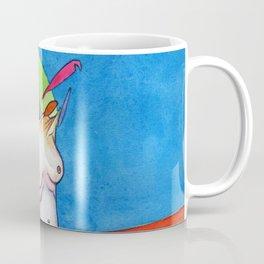 The Thrill, nude female figure, NYC artist Coffee Mug