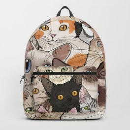 A lot of Cats Backpack