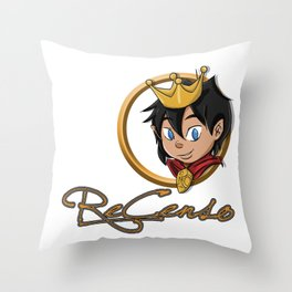 Re_Censo official youtube channel design Throw Pillow