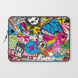 Stickerbomb Laptop Sleeve