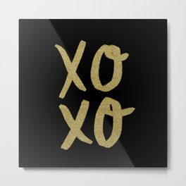 Xo Hugs & Kisses Metal Print