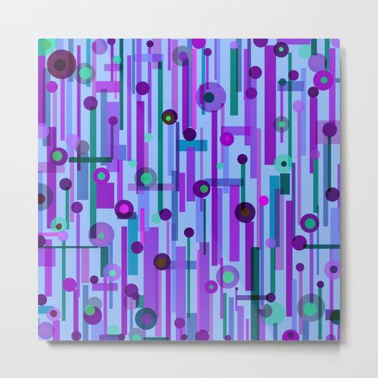 Plink Purple (see also Plink, and Plink Cherry) Metal Print