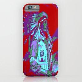 Indian Chief Pop Art iPhone Case