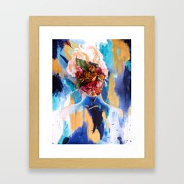 The Risk to Remain Framed Art Print