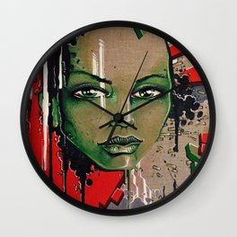 Street Girl Wall Clock