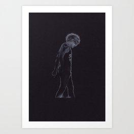 Louis Tomlinson on Stage Art Print