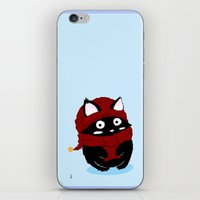 meow iPhone & iPod Skins featuring Meow by quackso