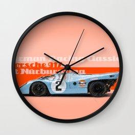Nürburgring 917 Gulf Wall Clock