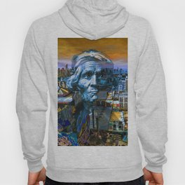 Ghost Tribe Native Americans in New York Blue Hoody