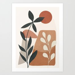 Branches Design 04 Art Print