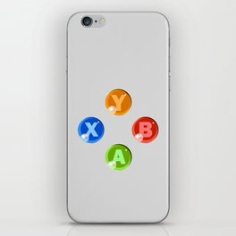 XBOX 360 Buttons iPhone Skin