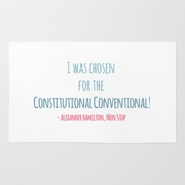 CONSTITUTIONAL CONVENTIONAL Rug