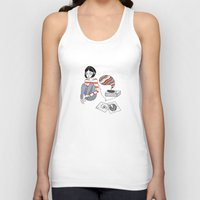 records Tank Tops featuring records by Bunny Miele