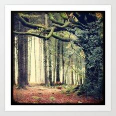 Hêtre de Ponthus - Legendary Trees of Brocéliande Art Print
