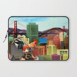 San Francisco City Chicken Laptop Sleeve
