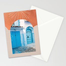 The Moroccan entrance II  Stationery Cards