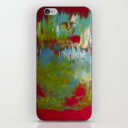 Red Fusion  iPhone Skin