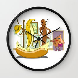 Unwelcome Guest Wall Clock