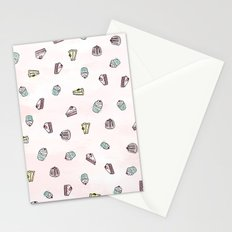 Desserts Rain Stationery Cards